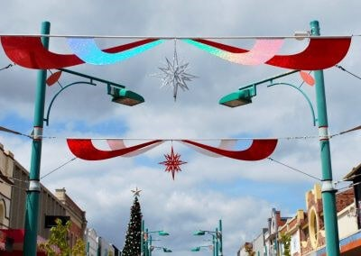 Devonport Council Christmas Street Decorations