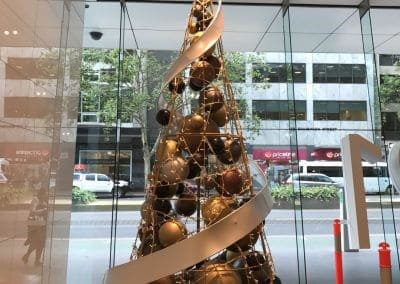 Collins St Contemporary Christmas Tree