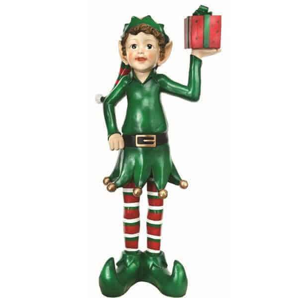 Elf with present prop