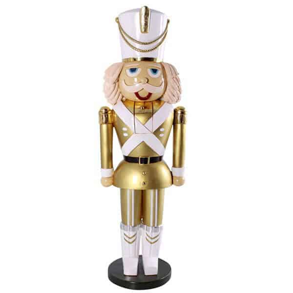 Gold nutcracker prop