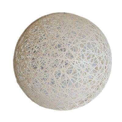 White masson fiberglass christmas ball