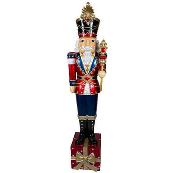 Nutcracker on present prop