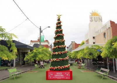 Maribyrnong Council Christmas Tree