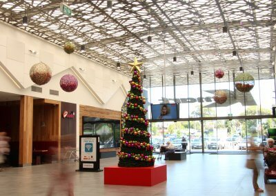 Summerhill Shopping Centre Contemporary Masson Decorations & Cone Tree