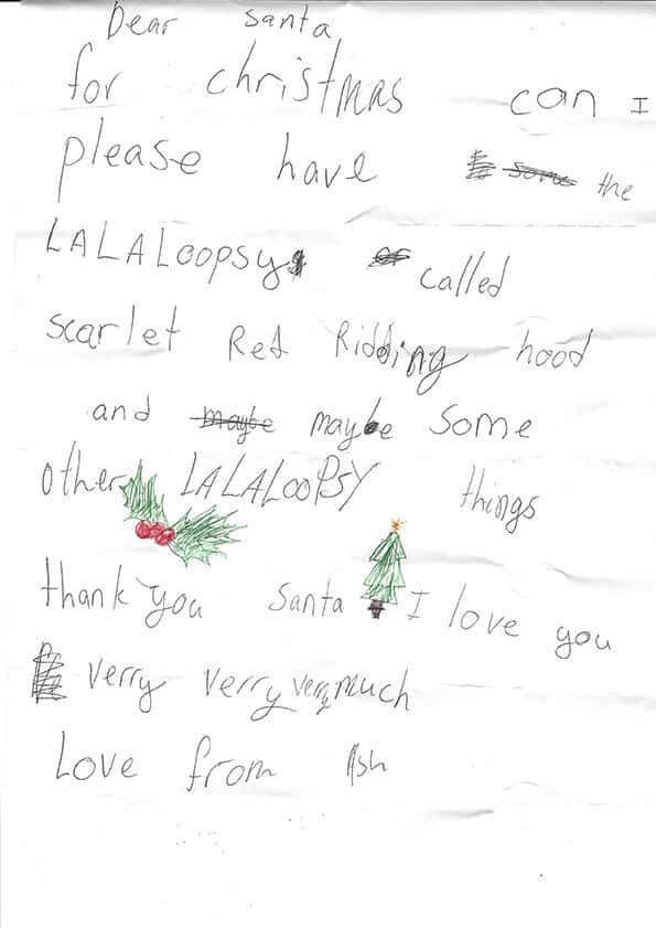 - no, I love Christmas and Santa