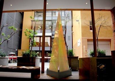 Contemporary Pyramid Christmas Tree Day