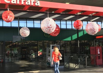 Carrara Shopping Centre Large Scale Masson Christmas Decorations