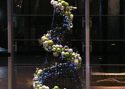 NSW Port Authority Masson Contemporary Christmas Tree Night