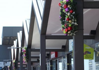 Shopping Centre Outdoor Wreaths