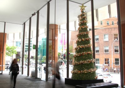 Collins St Sydney Traditional Christmas Tree Day