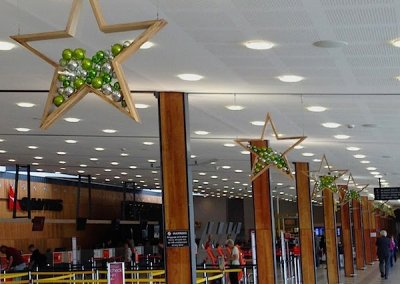 Hobart-City-Airport-Christmas-Stars