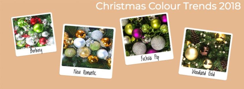 Christmas Colour Trends 2018