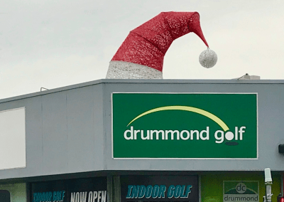 Drummond Golf Santa Hat