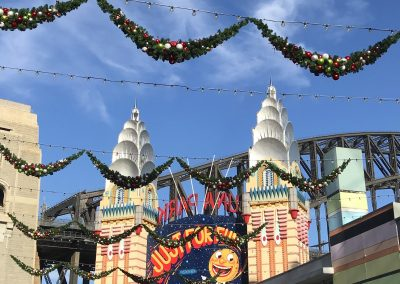 Luna park Garlands